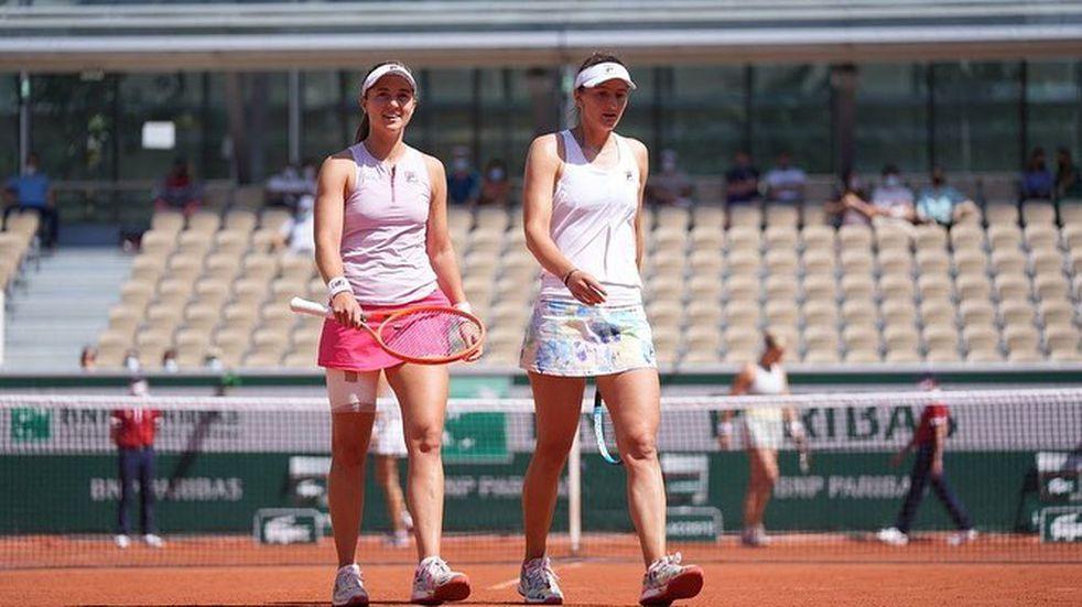 Nadia Podoroska y su compañera repasaron claves de su éxito en Roland Garros