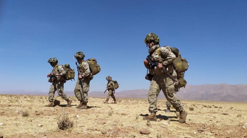 Militares completaron dos semanas de ejercicios en la Puna jujeña