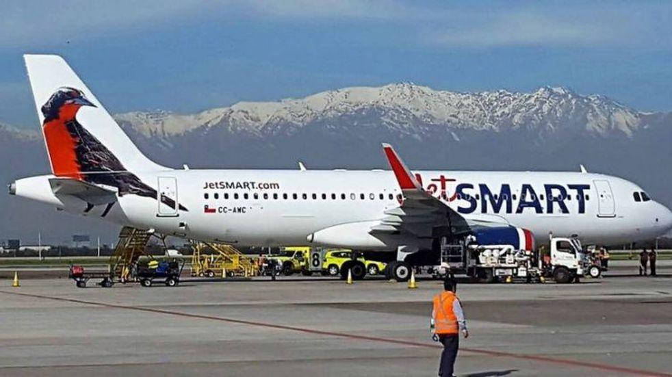 JetSmart realizará vuelos desde Aeroparque a Bariloche y Neuquén