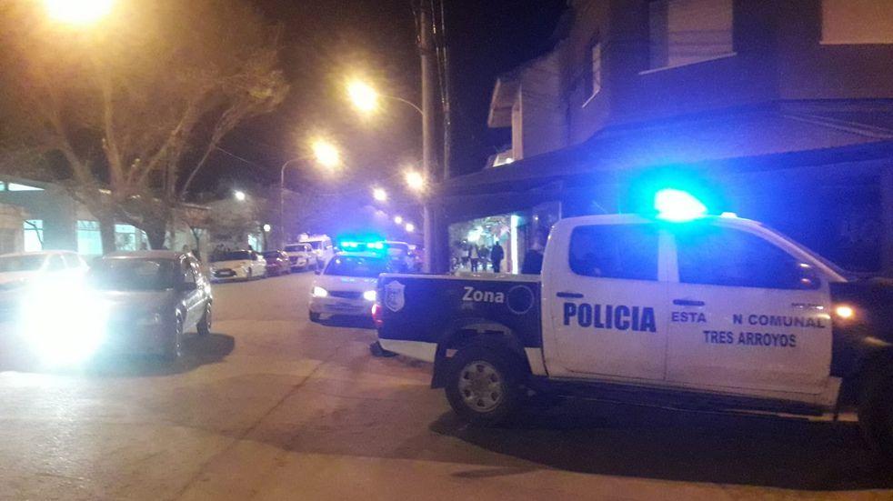 Primavera en Claromecó: un herido de arma blanca, hurto de una auto y robo en un comercio