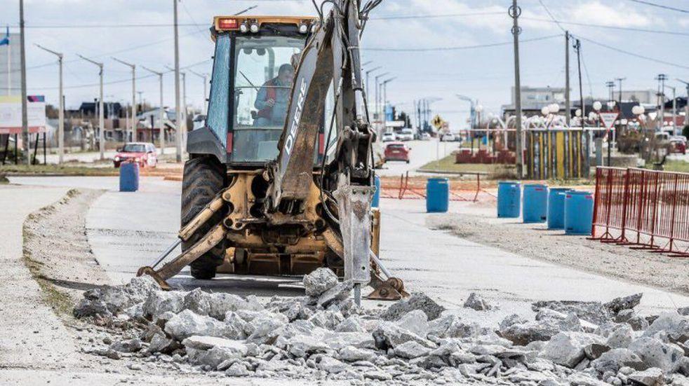Río Grande: continúan los trabajos de recuperación vial