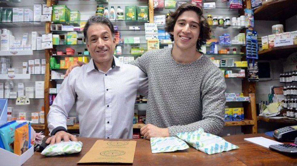 Dos neuquinos inventaron un polvo para comer y bajar de peso