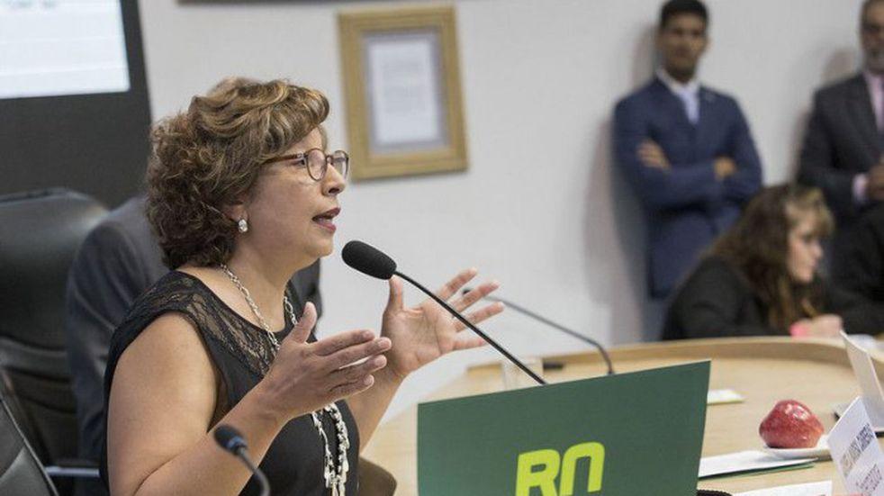 Santiago Cafiero recibe en Casa Rosada a la gobernadora de Río Negro Arabela Carreras
