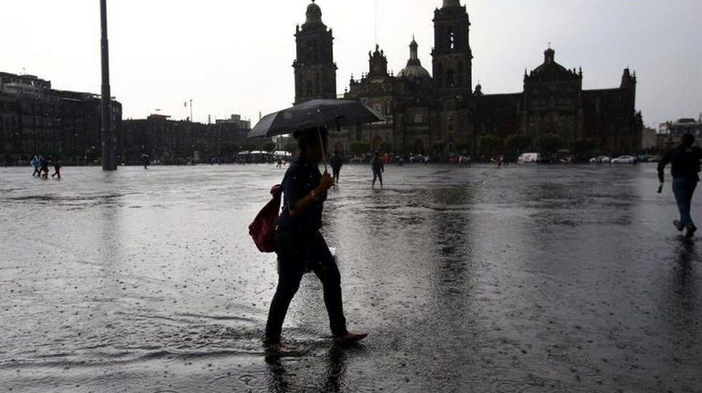 Inundaciones en la Ciudad de México por las lluvias atípicas