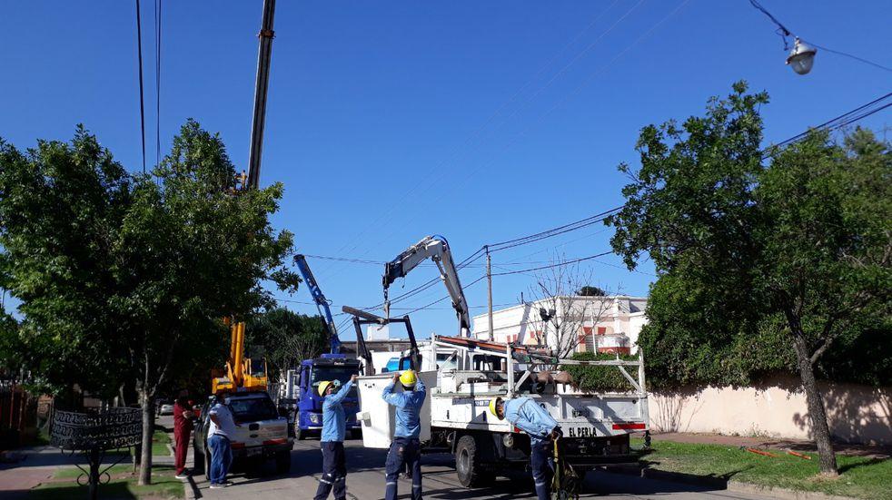 Hay más de 10 barrios afectados por los trabajos de mantenimiento.
