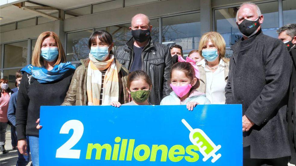 Más de dos millones de personas en Santa Fe ya recibieron la vacuna COVID-19