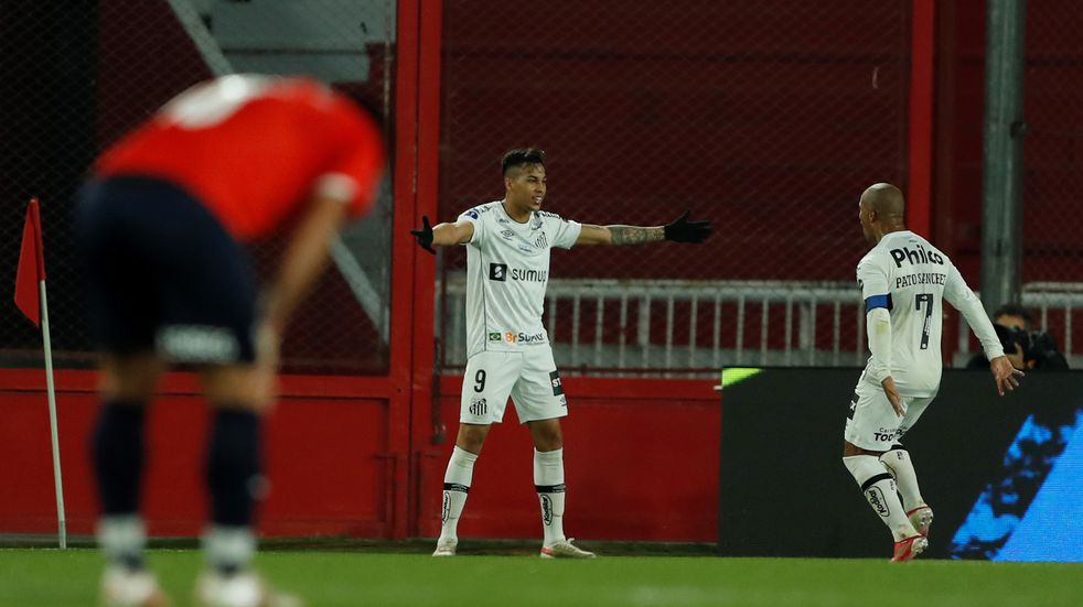 Copa Sudamericana: Independiente empató 1-1 con Santos y quedó eliminado