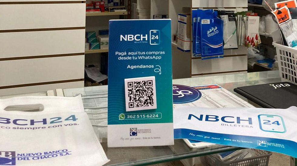 La billetera virtual del Nuevo Banco del Chaco tiene descuentos todos los días