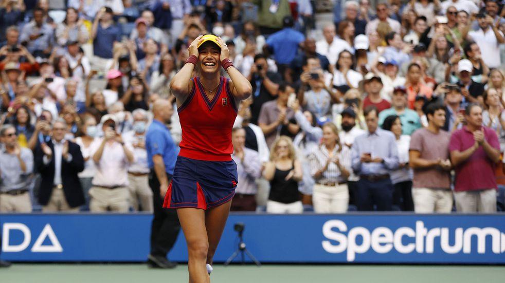 Histórico US Open: Emma Raducanu salió de la qualy y ganó el torneo a los 18 años