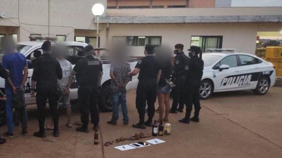 Oberá: fueron detenidos por apedrear a la policía