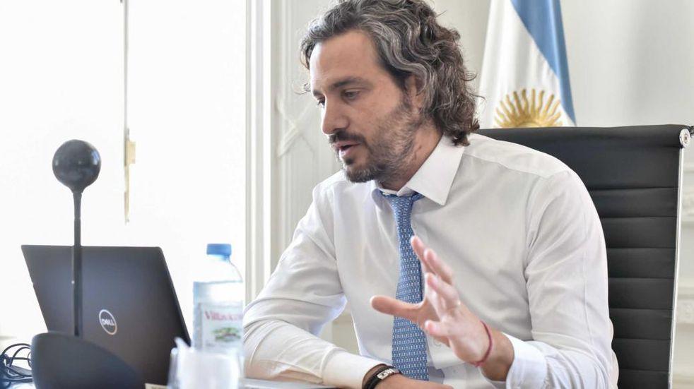 """Santiago Cafiero, filoso contra Larreta: """"Cuando no cumple, lo que ocurre es lo que vemos en las terapias intensivas de la Ciudad"""""""