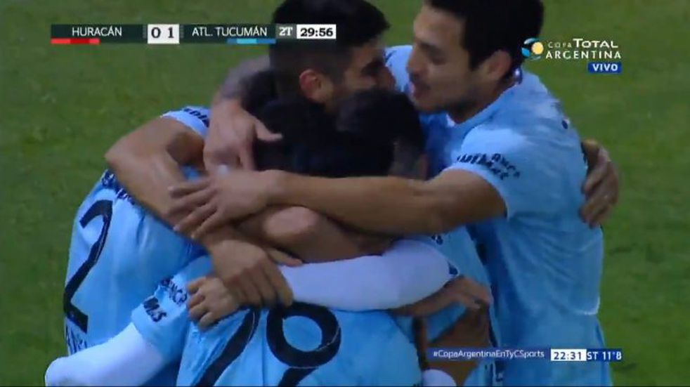 Copa Argentina: Atlético le ganó 2-0 a Huracán y avanzó a los octavos de final