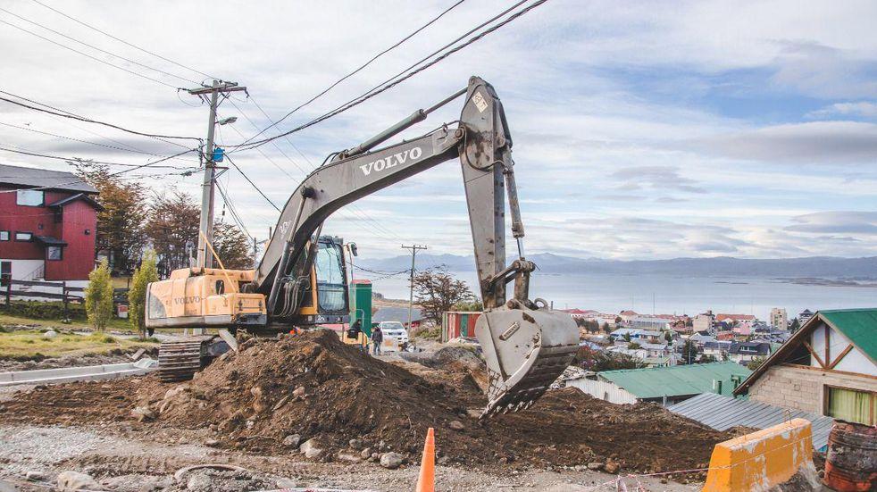 Plan de obras municipal: continúan los trabajos de pavimentación en el Barrio Ecológico