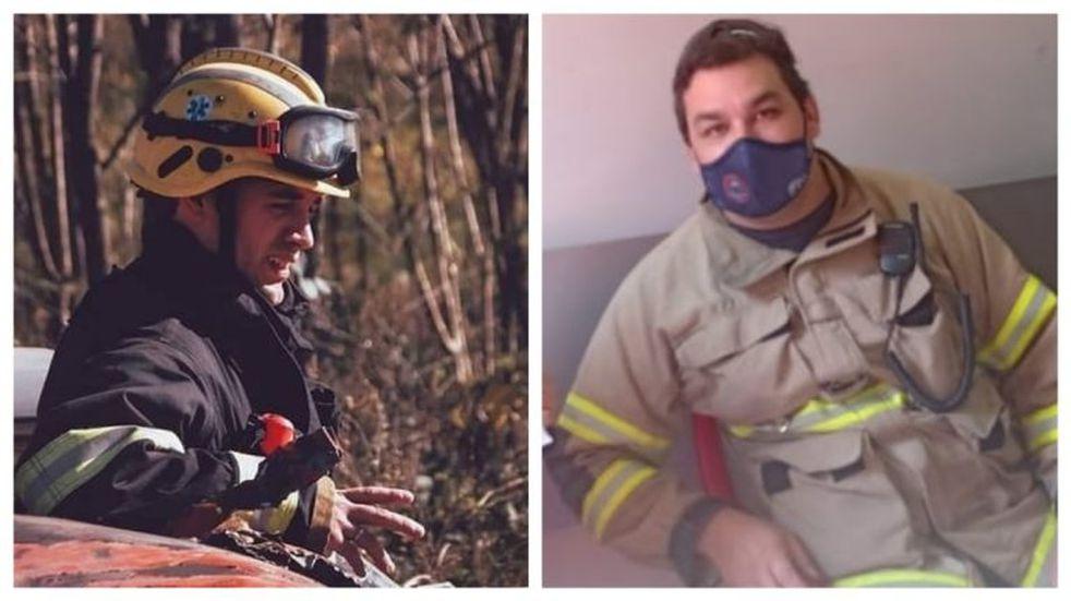 Incendios en Córdoba: bomberos cuentan en primera persona cómo es tener el fuego cara a cara