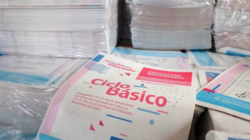 2º etapa de distribución de cuadernillos de actividades pedagógicas