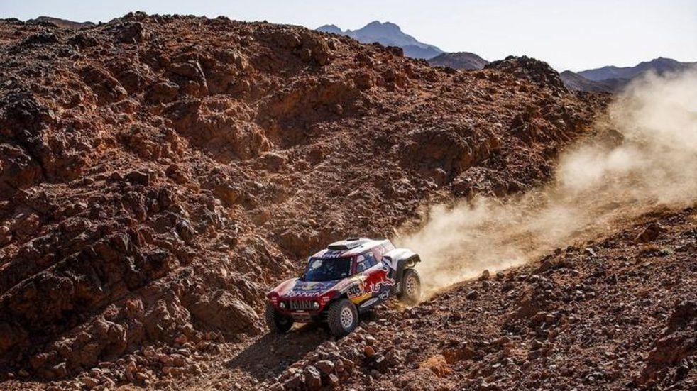 Dakar: Sainz se llevó la tercera etapa y es nuevo puntero