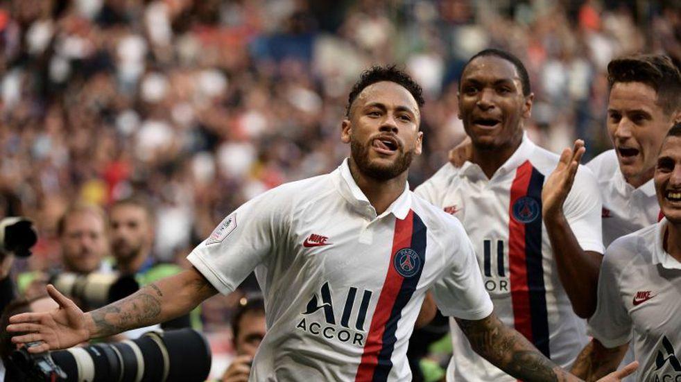 El TAS redujo la sanción de la UEFA a Neymar por insultar a un árbitro