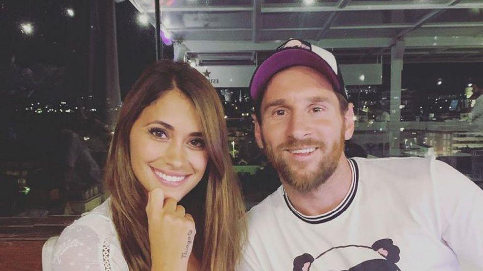 Antonela Roccuzzo se lució con una foto inédita por cumpleaños de Lionel Messi