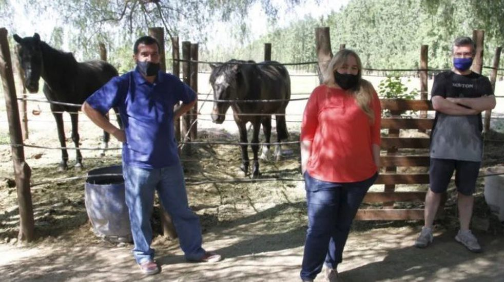 Salvaron a 50 caballos pero por falta de fondos no podrán continuar con los rescates