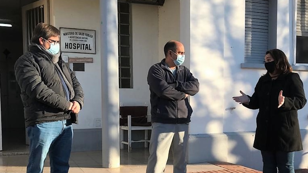 Jorge Ferrarello y Lorena Mandagarán visitaron Chillar