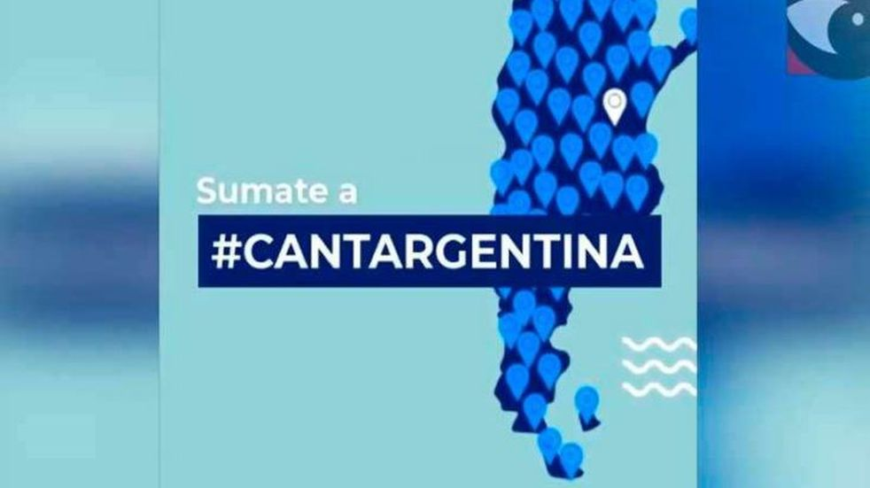 ¡Canta, Argentina!: la propuesta solidaria que unirá a más de 530 ciudades del país