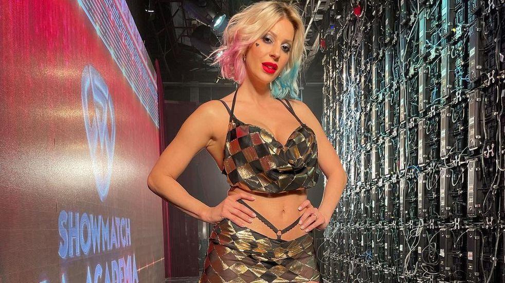 """La bailarina regresa a """"ShowMatch"""" como figura luego de haber brillado como reemplazo en el baile del caño. (Instagram)."""