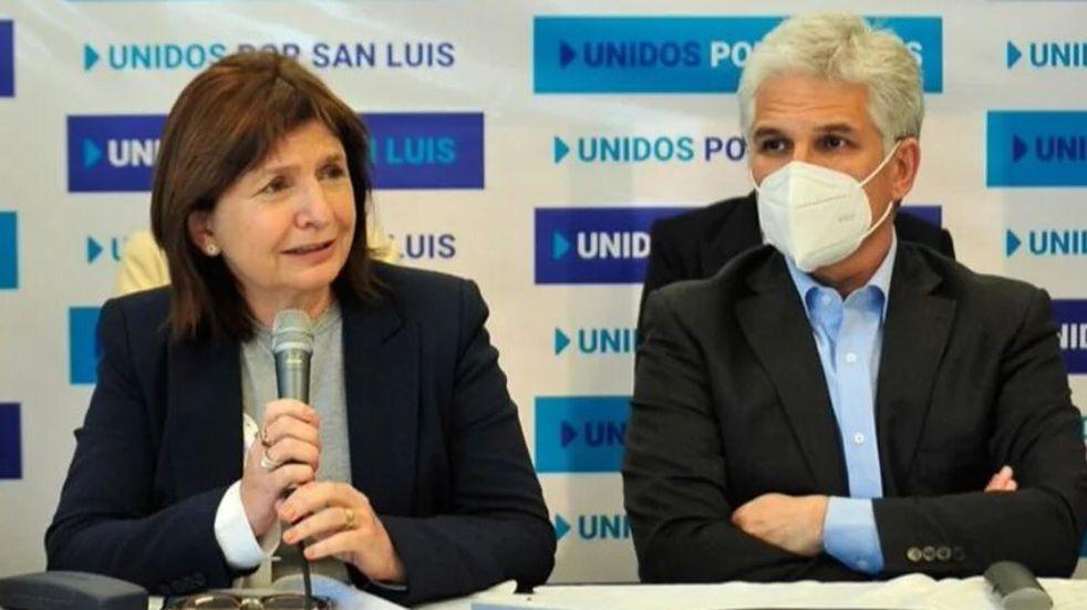 Poggi recibió el apoyo de Larreta y Bullrich de cara a las PASO