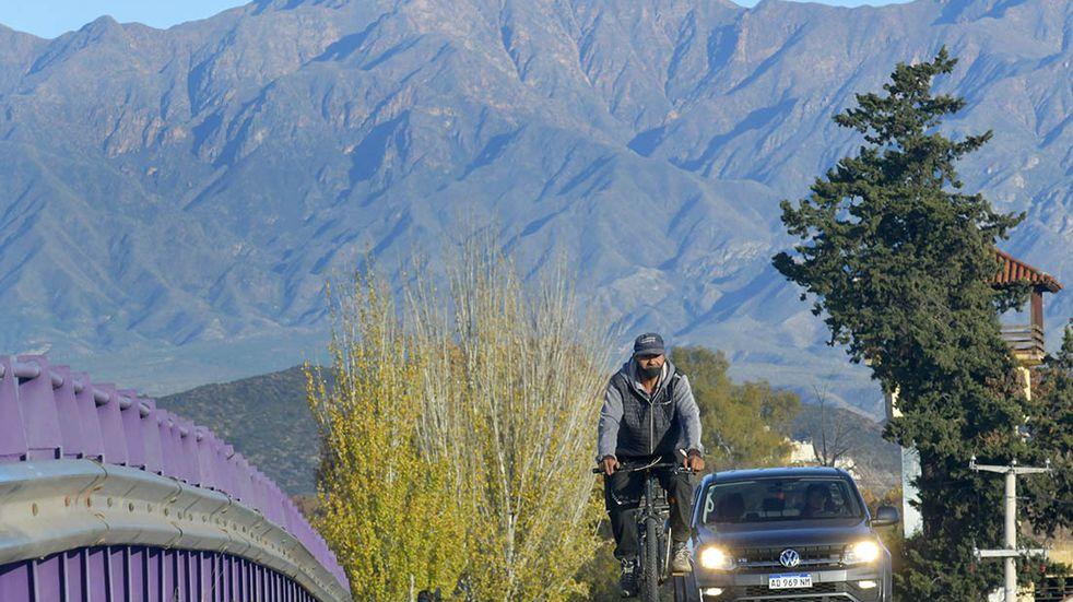 Clima en Mendoza: será un miércoles de invierno agradable