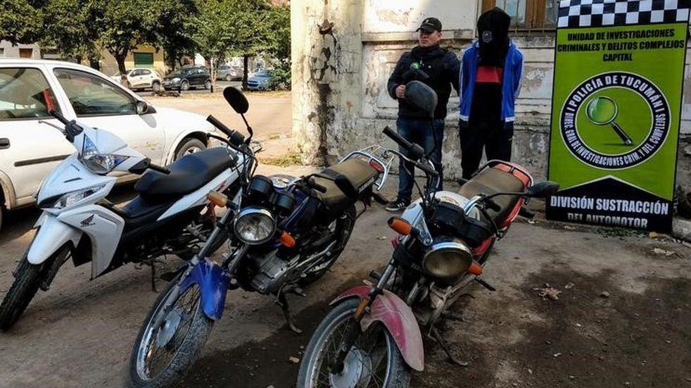 Inseguridad: aprehenden a un delincuente y recuperaron motos robadas