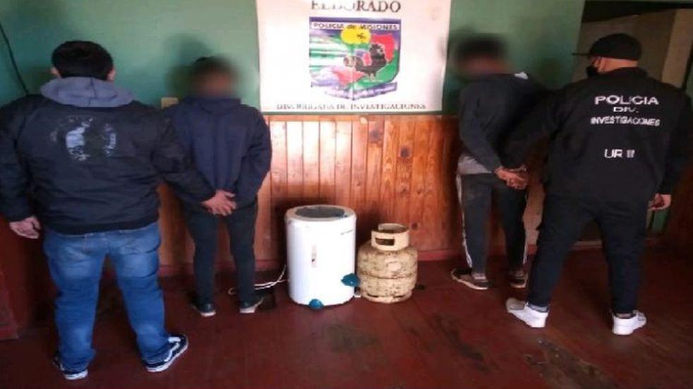 Dos detenidos tras el robo a un jubilado en Eldorado
