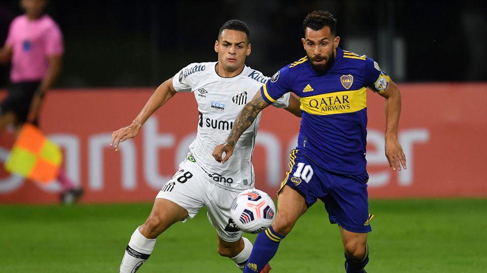 Copa Libertadores: Boca no pudo con Santos y sumó su segunda derrota