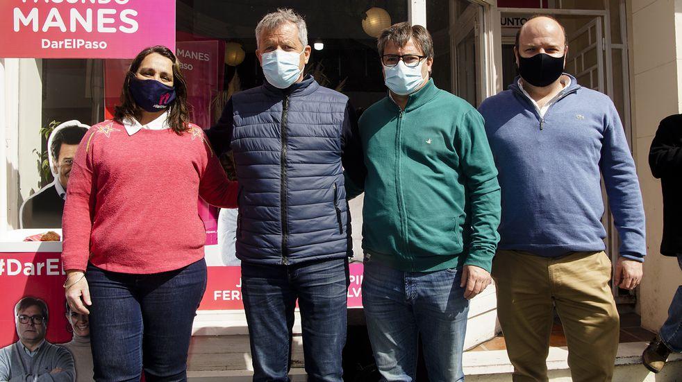 """Monzó en Azul: """"No fue un buen gobierno en el tratamiento de la pandemia"""""""