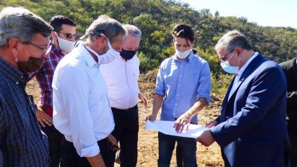 Proyectan la obra del Acueducto Norte en Quebrada de Moreira
