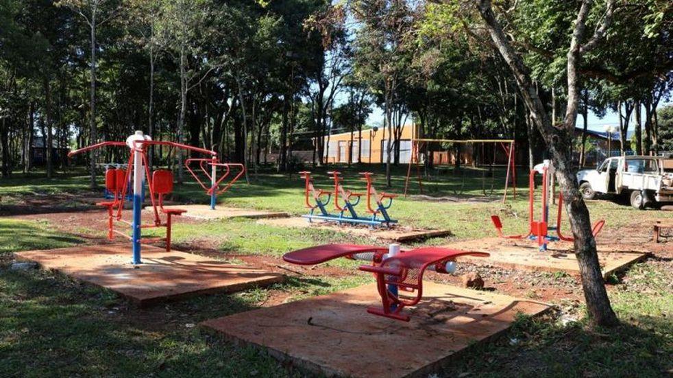 La municipalidad de Oberá trabaja para la puesta en valor de espacios públicos