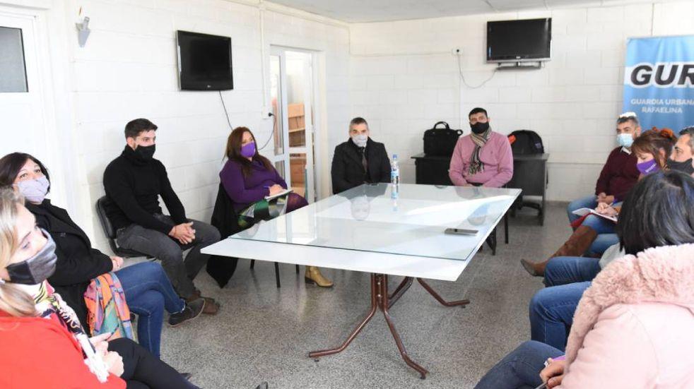 Funcionarios locales se reunieron con representantes de los Centros de Asistencia Judicial
