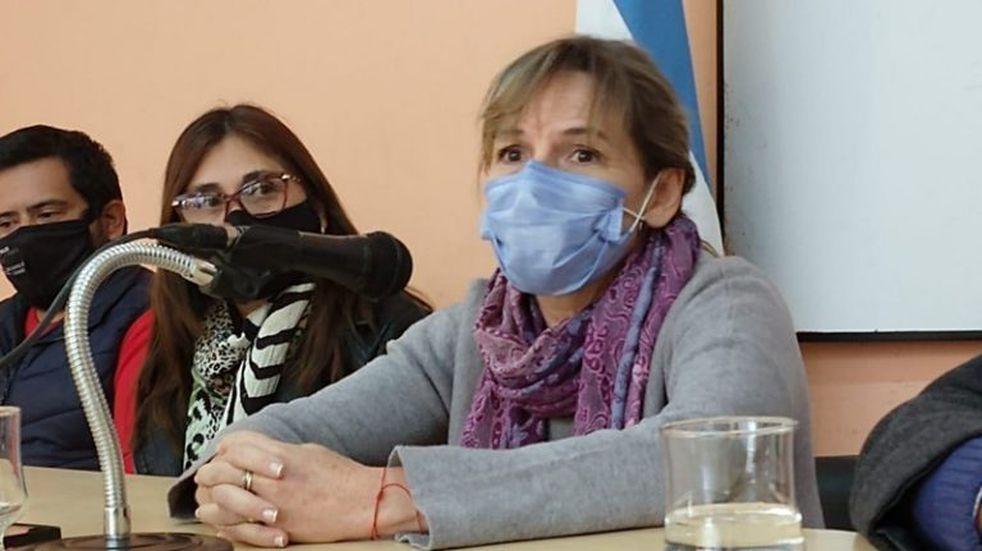 La ministra de salud Claudia Palladino volvió a dar positivo de coronavirus