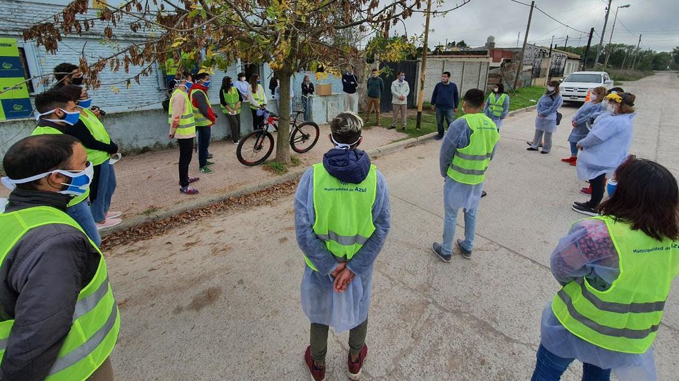 Abordaje territorial en Villa Piazza: encuestaron vecinos en 261 viviendas