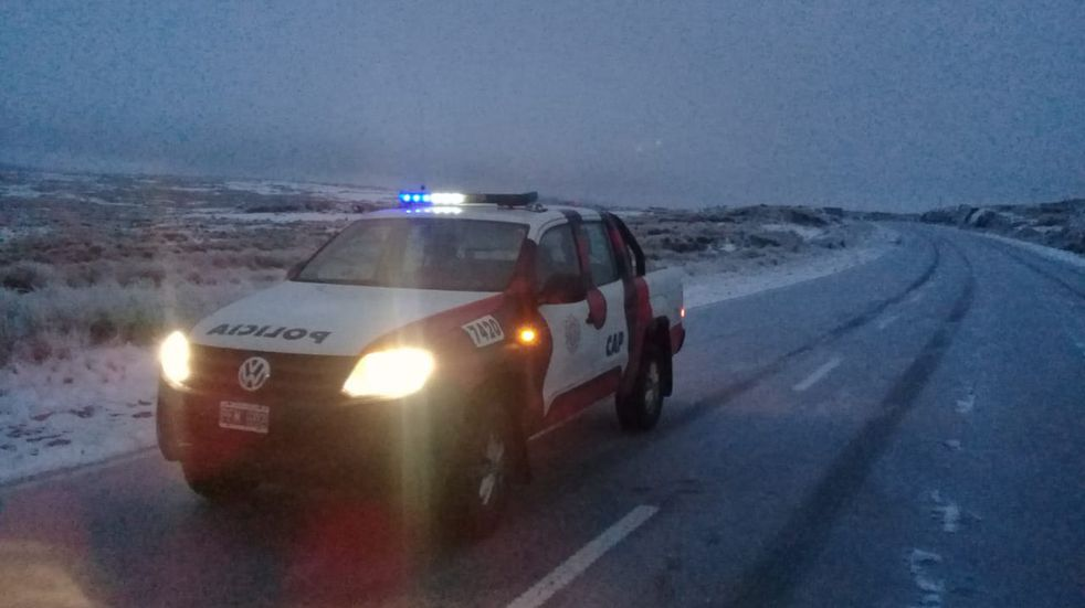 Fuerte descenso de la temperatura y alerta por nevadas en las Altas Cumbres