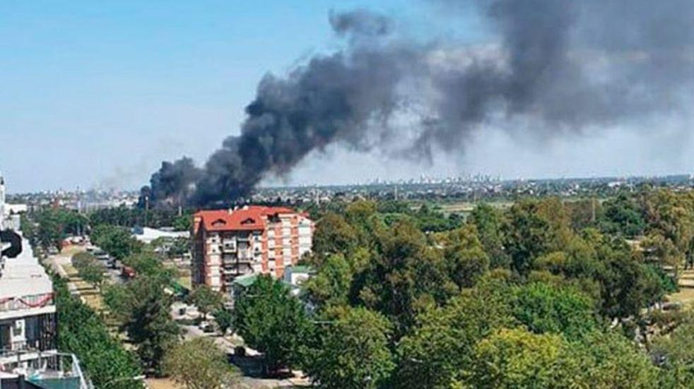 """Corte masivo de luz en CABA: Edesur confirmó que fue debido a un """"incendio intencional"""""""