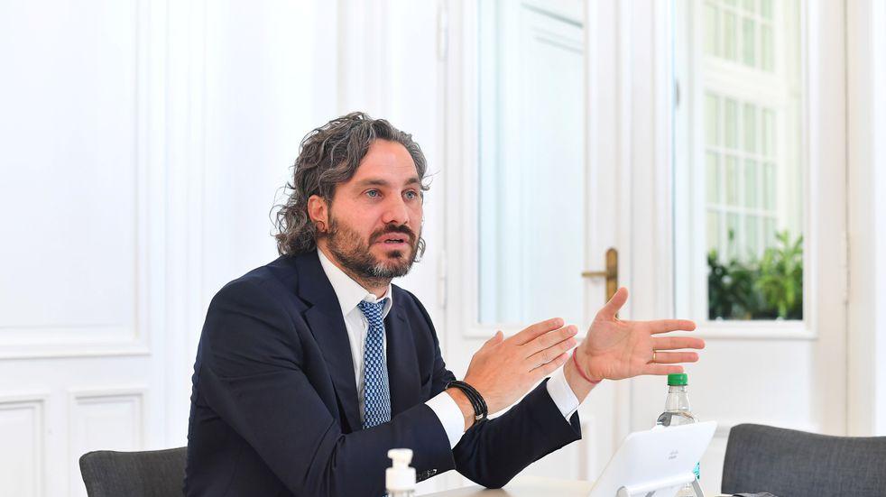 """Santiago Cafiero propuso """"construir grandes consensos políticos"""" para apuntalar la recuperación"""