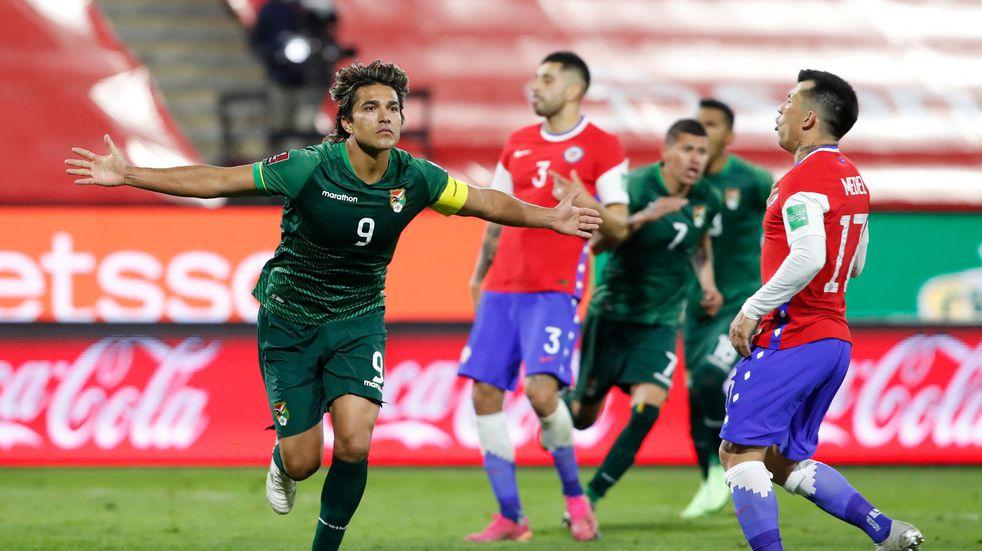 Quién es Marcelo Martins, el delantero de Bolivia goleador de las Eliminatorias