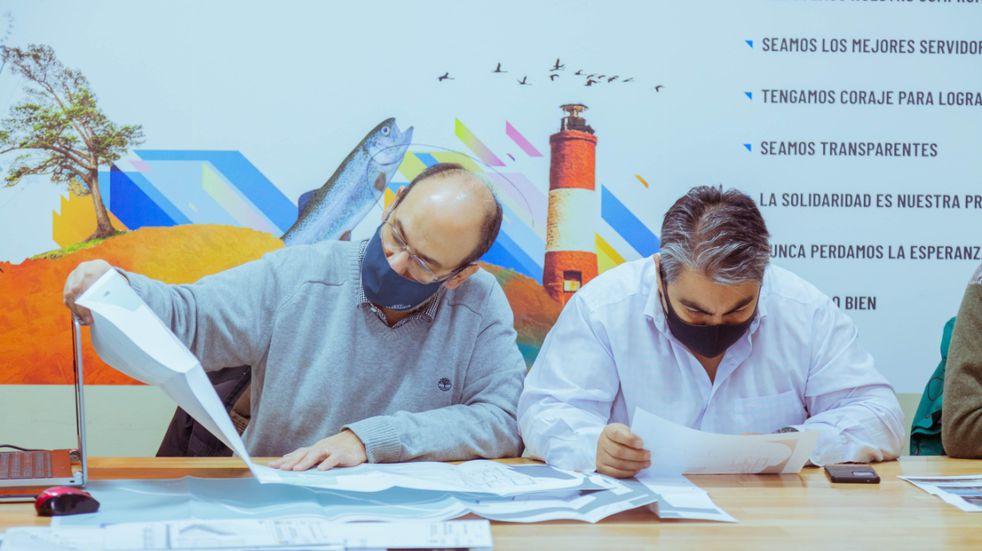 Fue presentado el proyecto de Obra del Puerto Comercial de Ushuaia a Empresas Turísticas