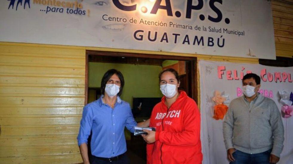 Operativo PAS en Colonia Guatambú