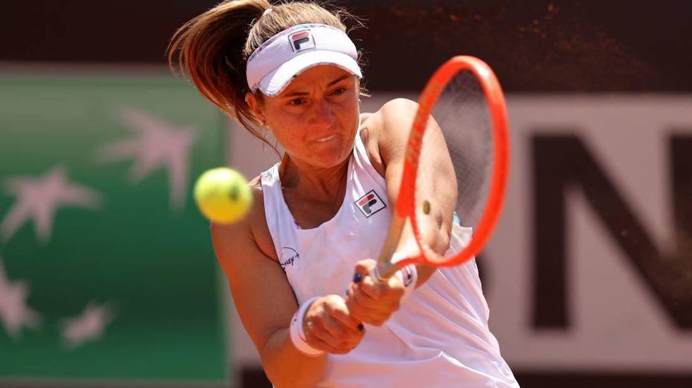 Nadia Podoroska llegó a París y tendrá una rival difícil en Roland Garros