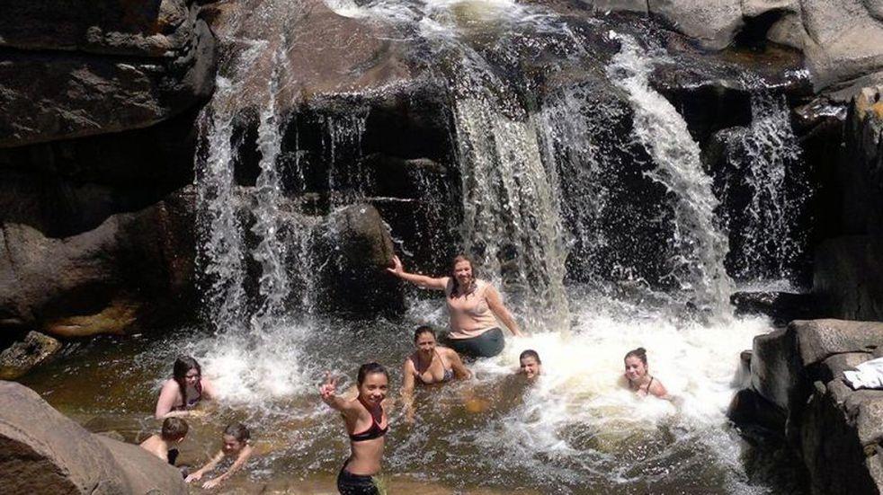 La cascada del arroyo Mallín, un atractivo para conocer Bialet Massé
