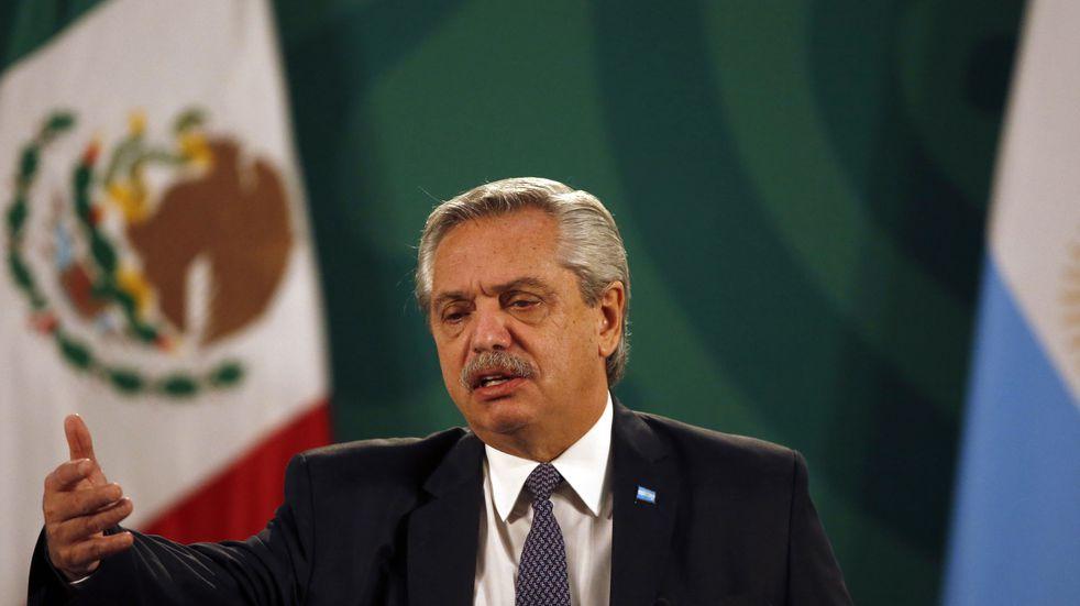 "Desde México, Alberto Fernández pidió que América Latina ""se ponga de pie"" para cambiar el mundo"