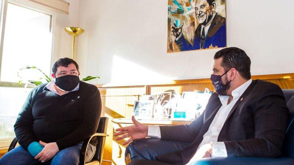 Vuoto se reunió con representantes del Sindicato Luz y Fuerza de Patagonia