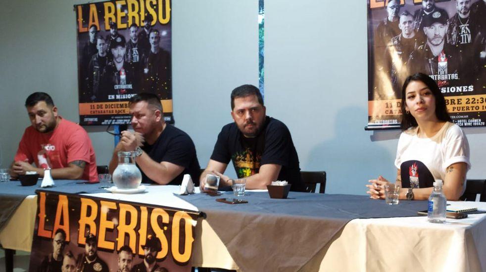 La Beriso estará en diciembre en la Costanera de Puerto Iguazú.