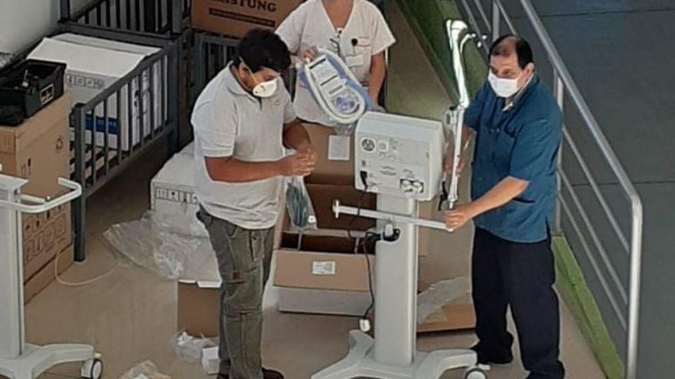El hospital SAMIC de Eldorado recibió nuevos respiradores
