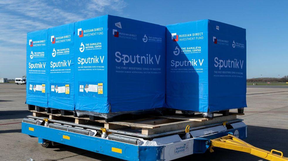 Sputnik V: llegaron más de 13mil dosis a Mendoza
